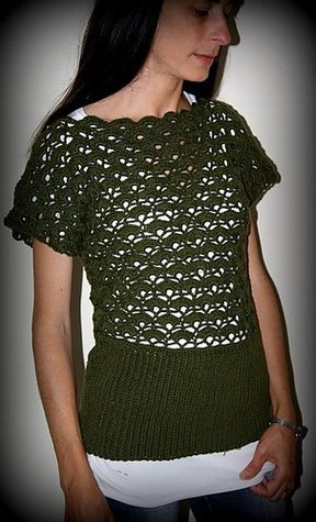 Selva Top Crochet Pattern  by  Silvina Leonetti
