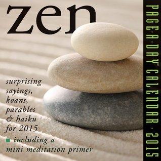 NOT A BOOK Zen 2015 Page-A-Day Calendar  by  NOT A BOOK