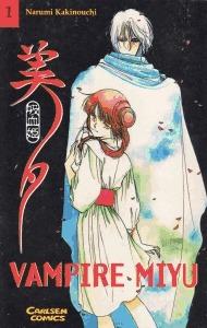 Vampire Miyu, Band 01  by  Narumi Kakinouchi