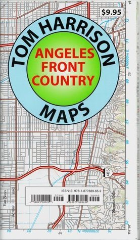 Trail Map Angeles Front Country  by  Tom Harrison