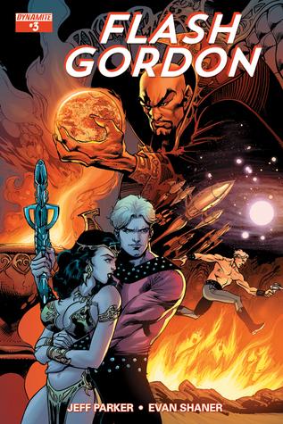 Flash Gordon #3  by  Jeff Parker