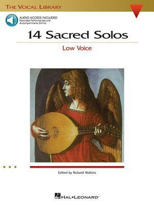 14 Sacred Solos: The Vocal Library Low Voice [With 2 CDs] Hal Leonard Publishing Company