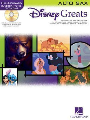Disney Greats: For Alto Sax Instrumental Play-Along Pack  by  Hal Leonard Publishing Company
