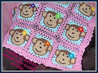 A Barrel of Monkeys Baby Blanket Crochet Pattern Sharon Santorum