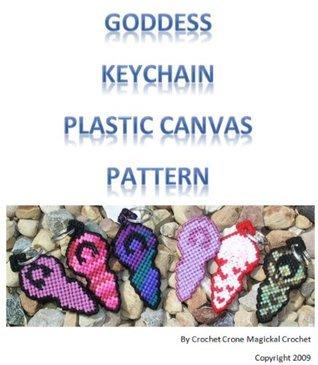 Plastic Canvas Goddess Keychain Pattern Crochet Crone