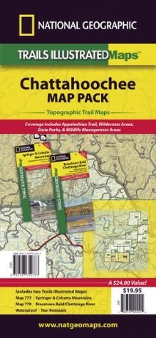 Chattahoochee National Forest [Map Pack Bundle] National Geographic Society