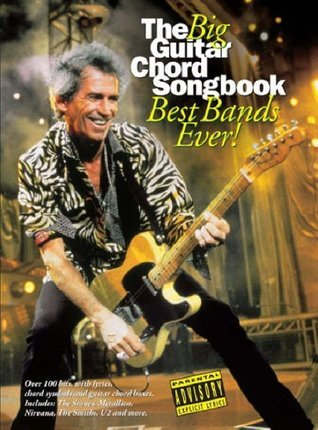 The Big Guitar Chord Songbook Best Bands Ever! Lc  by  Various