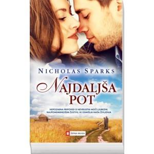 Najdaljša pot  by  Nicholas Sparks