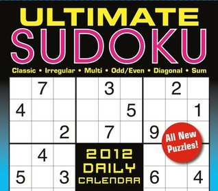Ultimate Sudoku 2012 Box/Daily  by  Conceptis Puzzles