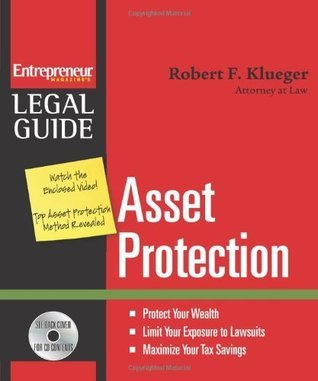 Asset Protection  by  Robert Kleuger