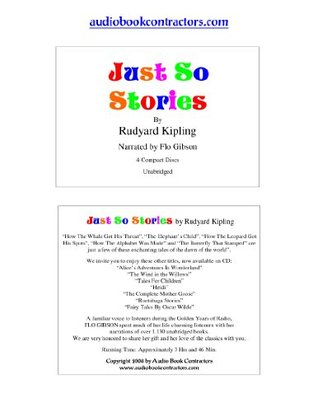 Just So Stories (Classic Books on CD Collection) [UNABRIDGED] (Classics on CD) Rudyard Kipling