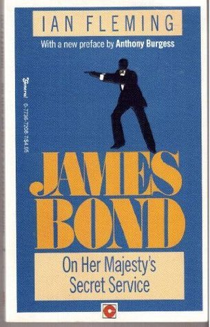 James Bond On Her Majestys Secret Service Ian Fleming
