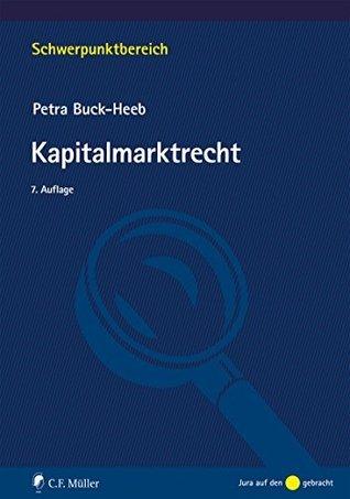 Kapitalmarktrecht Petra Buck-Heeb
