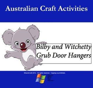 Australia Kids- Bilby and Witchetty Grub Door Hanger  by  QuickCraft