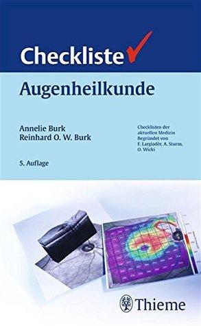 Checkliste Augenheilkunde Annelie Burk