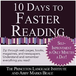 10 Days to Faster Reading Abby Marks Beale