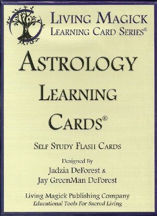 Astrology Learning Cards - Living Magick  by  Jadzia DeForest