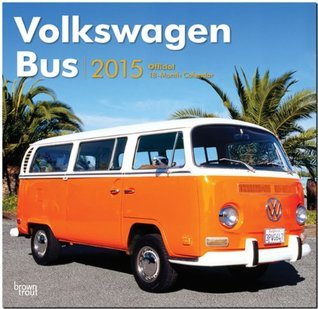 Volkswagen Bus 2015 Square 12x12 NOT A BOOK