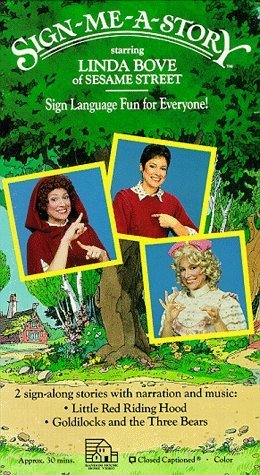 Sign-Me-a-Story: Sign Language Fun for Everyone! [VHS]  by  Linda Bove