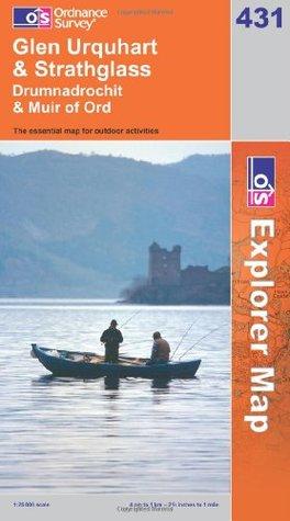 Glen Urquhart and Strathglass (OS Explorer Map Series) Ordnance Survey