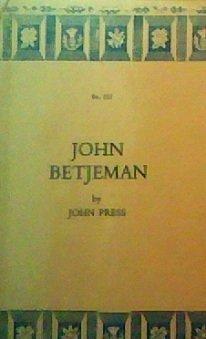 John Betjeman  by  John Press