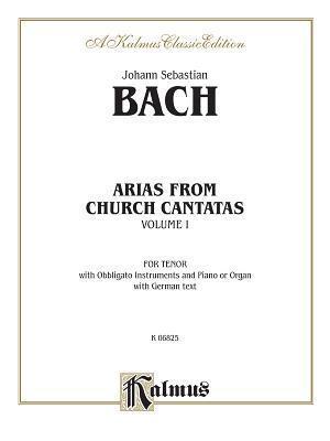 Tenor Arias (12 Arias), Vol 1: German Language Edition Johann Sebastian Bach