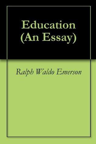 Education  by  Ralph Waldo Emerson
