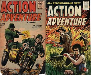 Action Adventure comics. All stories brand new. Issues 2 and 3. Golden Age Digital Comics Golden Age Adventure Comics