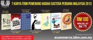 Set 7 Karya Pemenang Hadiah Sastera Perdana Malaysia 2013 Sri Rahayu Bt. Mohd Yusop