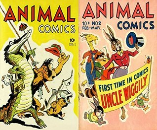 Animal Comics Issues 1 and 2. First time in comics Uncle Wiggly. Golden Age Digital Cartoon Comics. Golden age Cartoon Comics