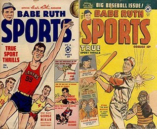 Babe Ruth Sports. True sports thrills. Issues 6 and 9. Big Baseball Issue plus Basketball and more. Golden Age Digital Comics  by  Golden Age Adventure Comics