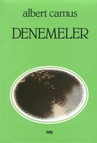 Denemeler ve Bir Alman Dosta Mektuplar Albert Camus