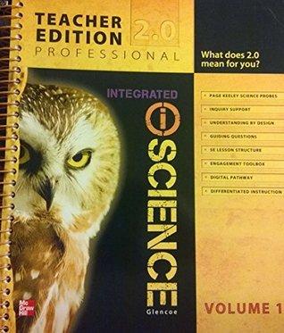 Glencoe Integrated Science Teacher Edition Vol. 1 Glencoe Publishing