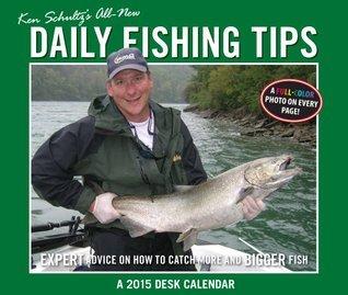 Ken Schultzs Daily Fishing Tips 2015 Calendar  by  Ken Schultz