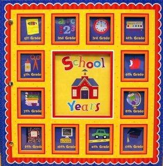 New Seasons, School Years Memories Keepsake Book Album, Red Scallop 24 Pockets  by  Editors of Publications International Ltd.