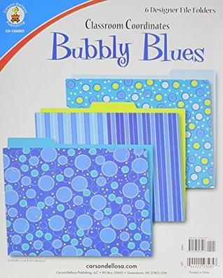 Bubbly Blues File Folders  by  Carson-Dellosa Publishing