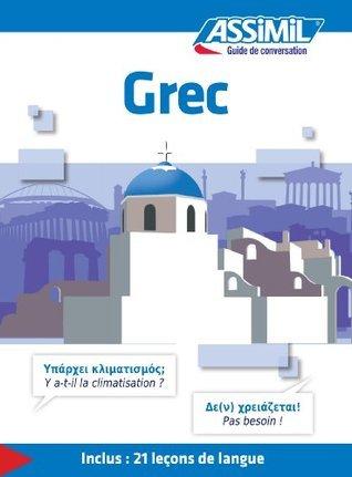 Grec - Guide de conversation: 1 Jean-Pierre Guglielmi