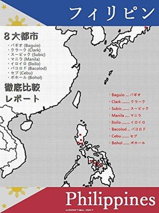 PHILIPPINES 8 Popular Cities Comparison Report - Baguio Clark Subic Manila Iloilo Bacolod Cebu Bohol - Tatsuhiko Kadoya
