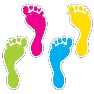 Carson Dellosa Footprints Cut-Outs (120083)  by  Carson-Dellosa Publishing