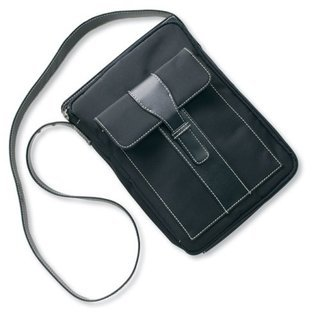 Satchel Black Microfiber with Organizer Zondervan Publishing