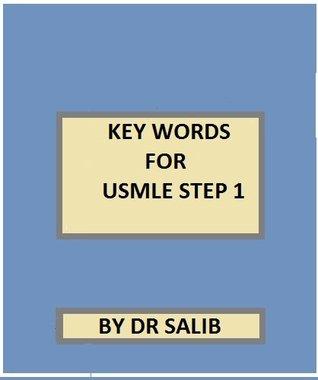 KEY WORDS FOR USMLE STEP 1  by  DR salib
