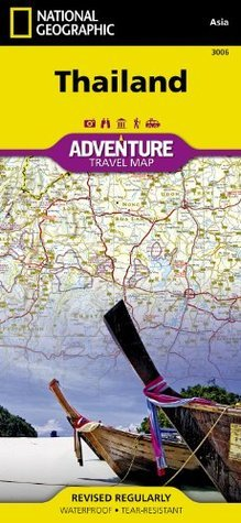 Thailand (National Geographic: Adventure Map) (Adventure Map (Numbered)) National Geographic Society