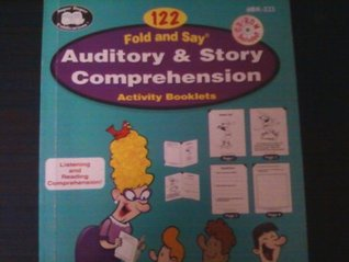 Fold and Say Auditory and Story Comprehension Acivity Booklets Diane Hyde