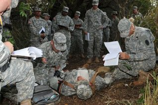 TRAINING - The Expert Field Medical Badge (EFMB) Test  by  U.S. Army