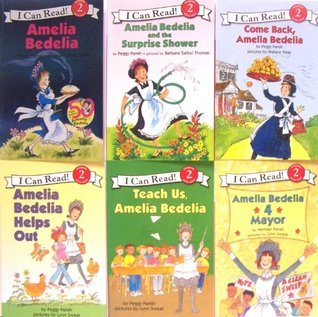 I Can Read Amelia Bedelia 50th Birthday 6 Pack Set, Level 2  by  Peggy Parish