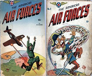 The American Air Forces. Issues 1 and 2. Golden Age Digital Comics Military and War. Golden Age Military and War Comics