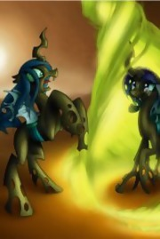 What if: Rarity from The Three Sisters met with Chrysalis Wanderer D