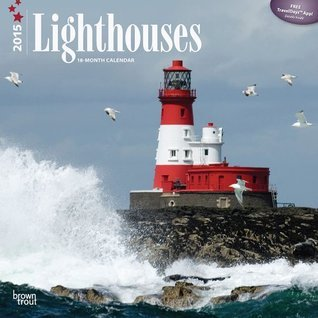 Lighthouses 2015 Square 12x12 NOT A BOOK