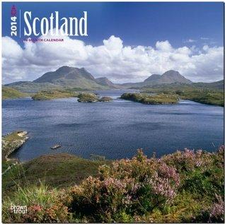 Scotland 2014 18 Month Calendar  by  NOT A BOOK