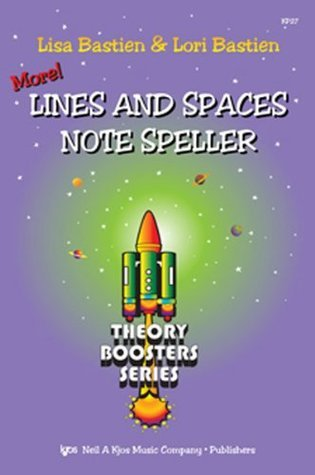 KP27 - Bastien Theory Boosters: More! Lines and Spaces Note Speller (Theory Boosters Series)  by  Lisa Bastien